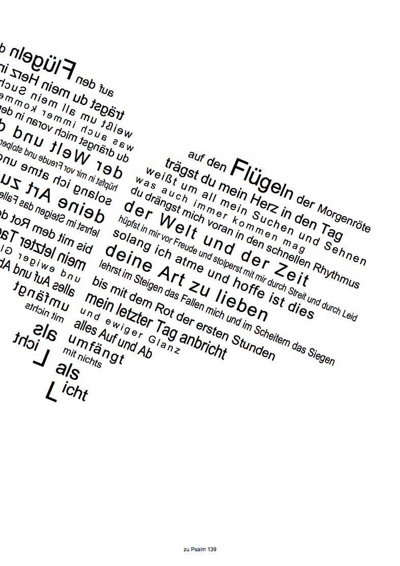 Psalm 139 - Web