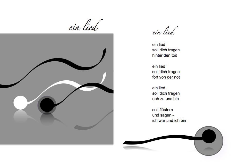 Segenskarte 4 - ein lied